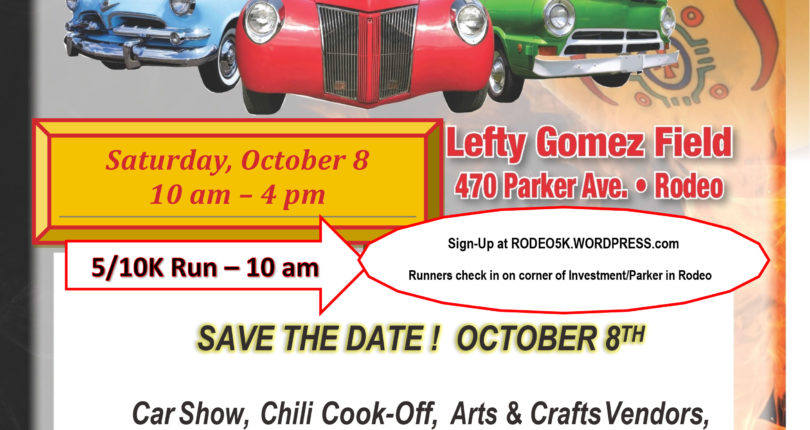 Rodeo Chamber Chili Cook-Off & Car Show